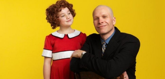 Julia MacLean is Annie and Steve Maddock is