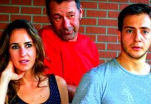 Gina Leon, Roman Podhora and Michael Germant in The Dreamer Examines His Pillow.