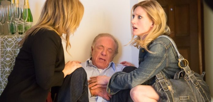 Sonja Bennett stars alongside James Caan in her new film Preggoland.