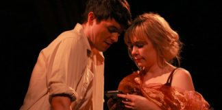 Adam Charles and Julie Casselman in Darling, A Musical.