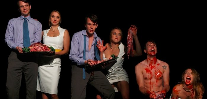 Staircase Theatre Society presents a production of Peter Sinn Nachtrieb's Hunters Gatherers