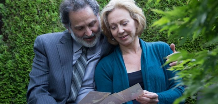 Stephen Aberle and Annabel Kershaw in Snapshots: A Musical Scrapbook