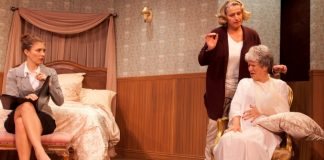 Meaghan Chenosky, Beatrice Zeilinger and Anna Hagan in Three Tall Women