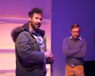 Andrew McNee as Dan and Jeff Gladstone as Nathan
