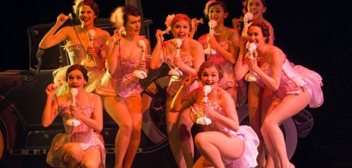 The Zangler Girls in the Gateway Theatre production of Crazy For You. Photo by David Cooper.