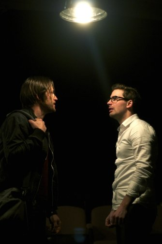 Robert-Salvador-and-Sean-Harris-Oliver in Wide Awake Hearts
