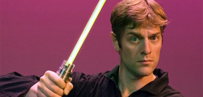 Charles Ross with One-Man Star Wars Trilogy.