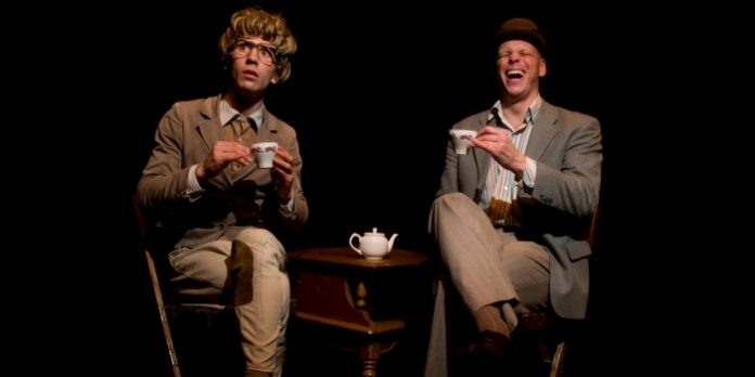 Aaron Malkin and Alastair Knowles as James & Jamesy in High Tea