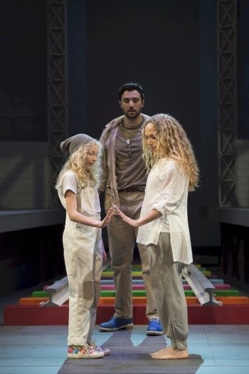 Aubrey Joy Maddock, Andrew Cohen, and Jennifer Copping. Photo by David Cooper.