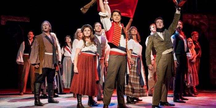 The cast of Les Misérables. Photo by Ross den Otter