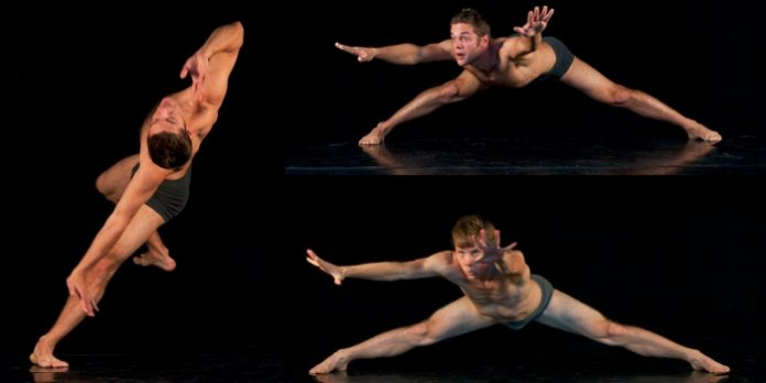 Emmanuel Proulx and Justin Gionet in Solitudes Solo. Photo by Denis Farley.