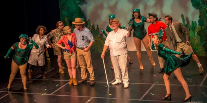 Vancouver's Geekenders take on the 1993 blockbuster Jurassic Park in its latest musical parody