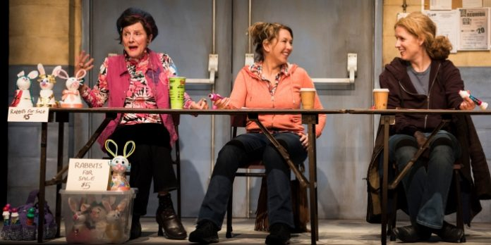 Patti Allan, Jenn Griffin and Colleen Wheeler in Good People. Photo by Emily Cooper.