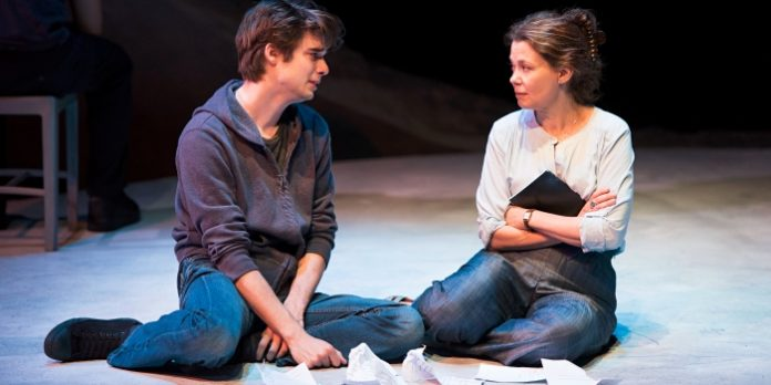 Kerry Sandomirsky and Daniel Doheny play a family coming to terms with mental illness. Photo by Emily Cooper.