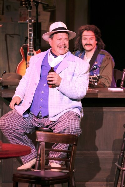 Ashley Wright & Anton Lipovetsky in The Merry Wives of Windsor. Photo by David Blue.