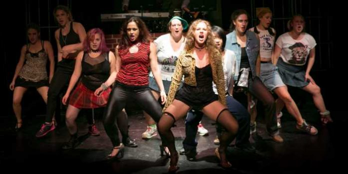 Members of the cast of Bad Girls. Photo by Kimberly Jansz.