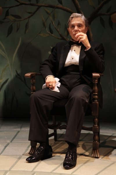 Nicola Lipman as Don Corleone. Photo by Ron Reed.