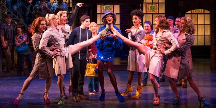 Members of the cast of Kinky Boots. Photo by Matthew Murphy.