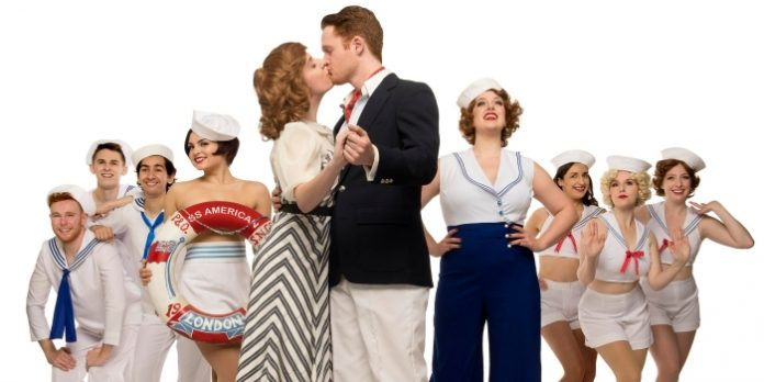 Members of the cast of the Royal City Musical Theatre production of Anything Goes. Photo by David Cooper.