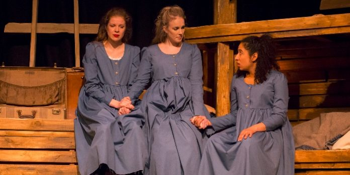Members of the cast of The Belfast Girls. Photo by Beverly Malcom.
