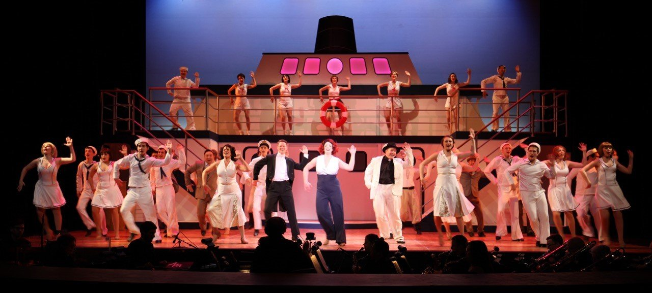 The cast of the Royal City Musical Theatre production of Anything Goes. Photo by Tim Matheson.