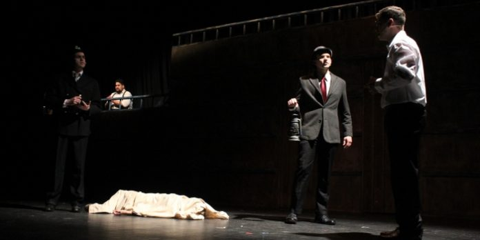 Members of the cast of the Fighting Chance Productions presentation of Parade. Photo by Allyson Fournier.