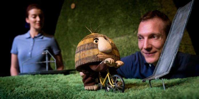 Grug and the Rainbow from Australia's Windmill Theatre is among the offerings at the 40th annual Vancouver International Children's Festival. Photo by Shane Reid