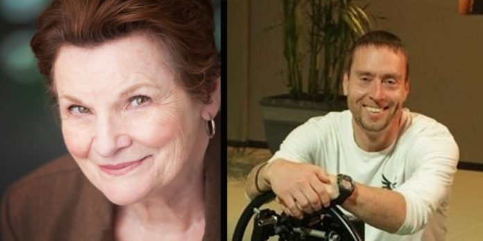 Mary Black and Kirk Caouette are recipients of this year's Sam Payne Awards