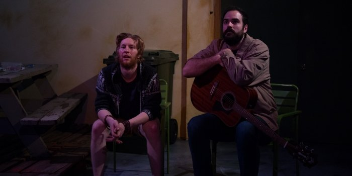 Zac Scott and Tim Howe in Annie Baker's story of friendship.