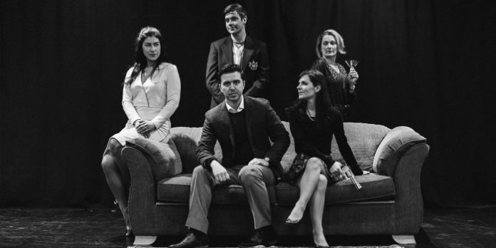 Members of the cast of the Yes Collective production of Wendy MacLeod's The House of Yes.