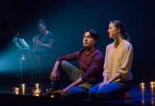 Ania Soul, Kawa Ada, and Makyko Nguyen in Salt-Water Moon. Photo by Joseph Michael.