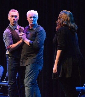 A graduate of Studio 58, Langara College's professional theatre program, Mochrie received his professional start as a member of the Vancouver TheatreSports League.