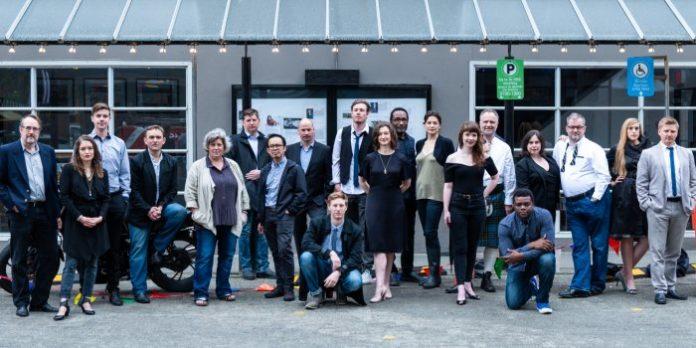 The company of Ensemble Theatre's 2018 Summer Repertory Festival.