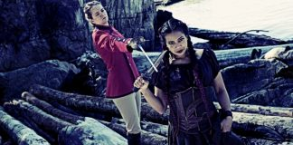 Jackie Hanlin and Nathania Bernabe portray real-life pirates, Anne Bonny and Mary Read, in Karen Basset's Heroine.