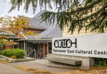 The Cultch launches Housing Crisis Prices. Photo by Emily Cooper.