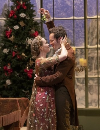 Miss Christmas Cast.Theatre Review Miss Bennet Christmas At Pemberley Is