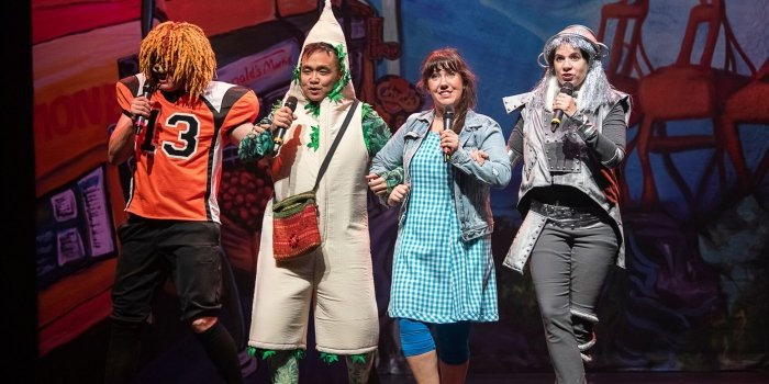 Members of the cast of East Van Panto: Wizard of Oz. Photo by Emily Cooper.