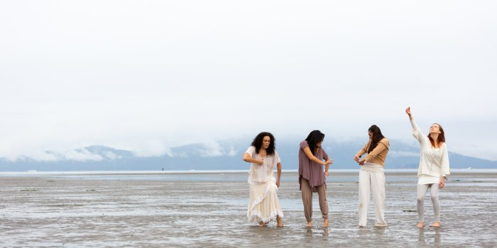 Vancouver's Raven Spirit Dance presents Gathering Light at the 2019 Vancouver International Dance Festival. Photo courtesy Raven Spirit Dance.