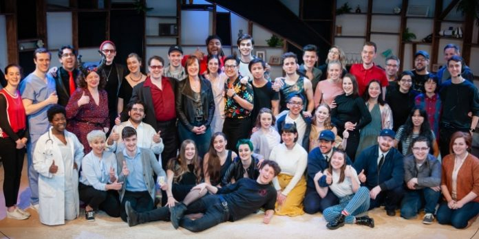 Studio 58's Hot House is a massive undertaking with 8 plays, 8 directors, 9 playwrights, 4 designers, 1 technical director, 31 actors, 7 mentors, 5 stage management, 32 crew. Photo by Ross den Otter.