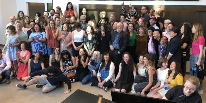 Many of the nominees were on hand at the BMO Theatre Centre for announcement of nominations for the 37th Annual Jessie Awards. The awards will be be handed out at a ceremony at Bard on the Beach on July 15.