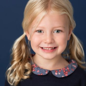 Five-year-old Vancouver actor Kate Whiddington plays Lulu.