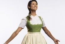 Synthia Yusuf as Maria in the Arts Club Theatre Company production of The Sound of Music. Photo by David Cooper.
