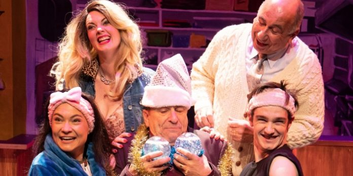 Theatre Review Holiday At The Elbow Room Cafe Plays It Too Safe Inside Its Spirited Fun Vancouver Presents