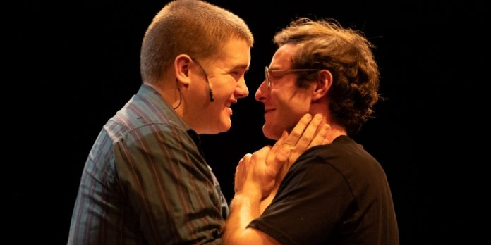 Scott McGowan and Julian Galipeau in the Fighting Chance Productions presentation of Girlfriend.