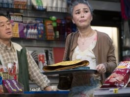 James Yi and Maki Yi in the Arts Club Theatre Company production of Kim's Convenience. Photo by David Cooper.